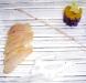 Assaggi di Teatro: ricciola affumicata alla cannella, yogurt con erba cipollina, macedonia di arancia tarocco e patate viola