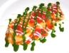 Assaggi di Teatro: Ravioli di caciotta fresca e maggiorana con pomodorini vesuviani e basilico
