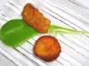 Assaggi di Teatro: funghi porcini fritti e salsa di prezzemolo