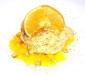Dolce dedicato ad Assaggi di Teatro: Mediterraneo di arance, ricotta e pistacchio