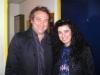 Assaggi di Teatro: la giornalista Maria Luisa Basile con l'attore Tony Laudadio al Teatro Valle