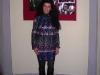 L'ideatrice di Assaggi di Teatro, Maria Luisa Basile, la sera del prima di Magic People Show al Teatro Valle