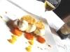 Assaggi di Teatro: Finanziera all'ananas e zafferano, gelato di panna e rhum con vino passito Aristeo Feudi della Medusa