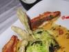Assaggi di Teatro: Triglie alla salvia con tortino di broccoli e olive