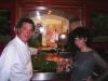 Assaggi di Teatro: lo chef Massimo Riccioli e l'ideatrice del progetto Maria Luisa Basile scelgono i pesci
