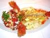 Assaggi di Teatro: scorfano grigliato ai 4 sali con insalata di carciofo romano