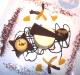 Assaggi di Teatro: bavarese di arance e Sacher al mandarino con il suo sorbetto