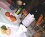 Assaggi di Teatro: gelato all'olio d'oliva e tagliata di cappesante con Vermentino Albithia 2006 Feudi della Medusa