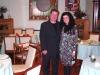 Assaggi di Teatro: la giornalista Maria Luisa Basile e Romeo Caraccio, sommelier-patron del ristorante Agata e Romeo