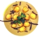 Assaggi di Teatro: Crema di fave, gnochetti alla romana fritti e tartufo nero