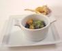 Assaggi di Teatro: Sconcigli alla bourgugnonne con gnocchetti alla romana fritti