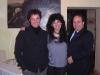 Assaggi di Teatro: da sin. Angelo Troiani, Maria Luisa Basile e Massimo Troiani
