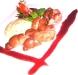 Assaggi di Teatro: rognone arrostito con salsa di vino rosso e funghi