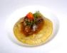 Assaggi di Teatro: polenta ai porcini con lumachine di mare in porchetta