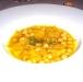 Assaggi di Teatro: lo chef regala la ricetta della zuppa di ceci e brodo di maiale