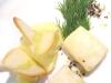 Assaggi di teatro: Baccalà islandese lessato con purea di patate e crostini