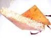 Assaggi di teatro: foie gras in crosta di pop-corn