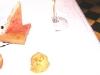 Assaggi di Teatro: foie gras in crosta di pop corn con mele cotogne e gelato al pan di spezie
