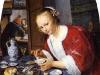 Jan Steen femme degustant des huitres