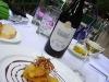 Assaggi di Teatro: zeppola di astice e salsa agrodolce con Chardonnay Alba Nora