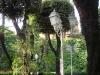 Assaggi di Teatro: il giardino del Baby dove si è svolta la performance di Roma gourmet