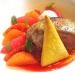 Assaggi di Teatro: Scaloppa di foie gras in vivacissima zuppa ristretta di agrumi e sorbetto all'anice stellato