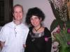 Assaggi di Teatro: la giornalista Maria Luisa Basile, ideatrice di Assaggi di Teatro e Marion Lichtle, miglior pastry chef d'Italia Premio Lavazza 2009