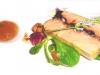 Foie gras al torcione con marmellate di Mauro Bellotti - Donatella, Piemonte