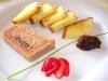 Terrina di fegato grasso d'oca con frutta, confettura e pan brioche - Guallina, Mortara, Lombardia