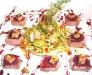 Foie gras ai fichi con tonno e puntarelle all'aceto di Marsala di Massimo Riccioli - La Rosetta, Roma
