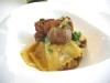 Stracci di pasta con Finanziera e scaloppa di foie gras - Villa Amelia, Piemonte