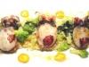 Assaggi di Teatro: Seppiette, broccolo romano, nero di Seppia e cous cous