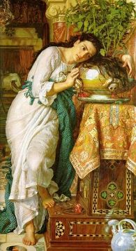 Holman Hunt, Isabel and the Pot of Basil