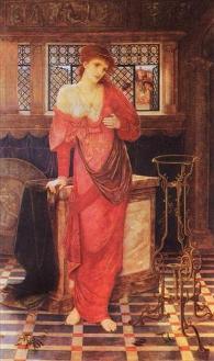 John Melhuish Strudwick Isabel and the pot of basil - 1879